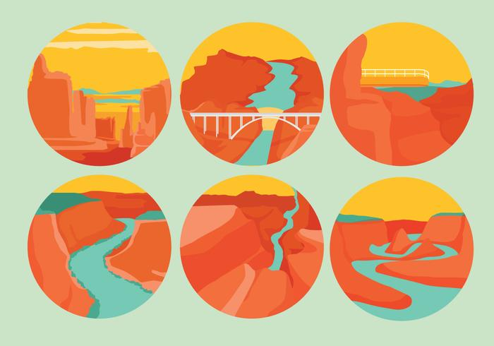 Grand Canyon Vectors