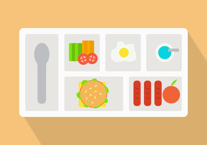 Free School Lunch Vector Icons #3