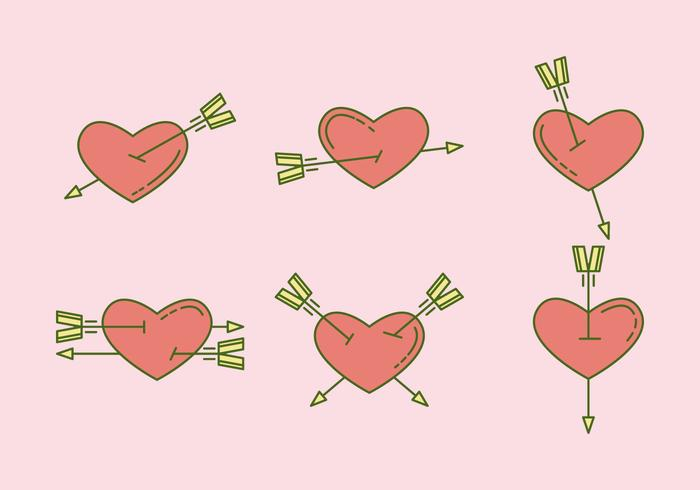 Free Heart Vector Icons #6