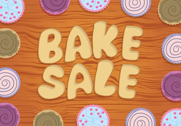 Bake Sale Vector