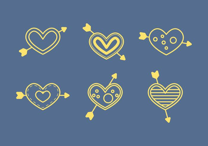 Gratis Heart Vector Pictogrammen # 5