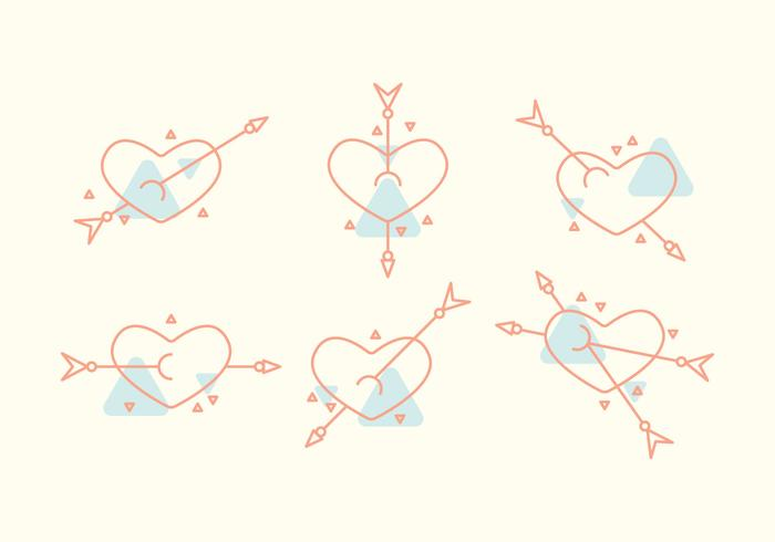 Gratis Heart Vector Pictogrammen # 4