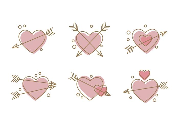 Free Heart Vector Icons #3