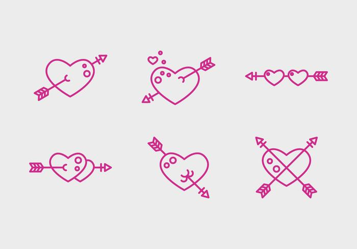 Free Heart Vector Icons # 2