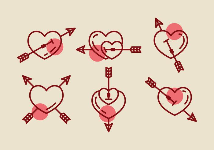 Free Heart Vector Icons #1