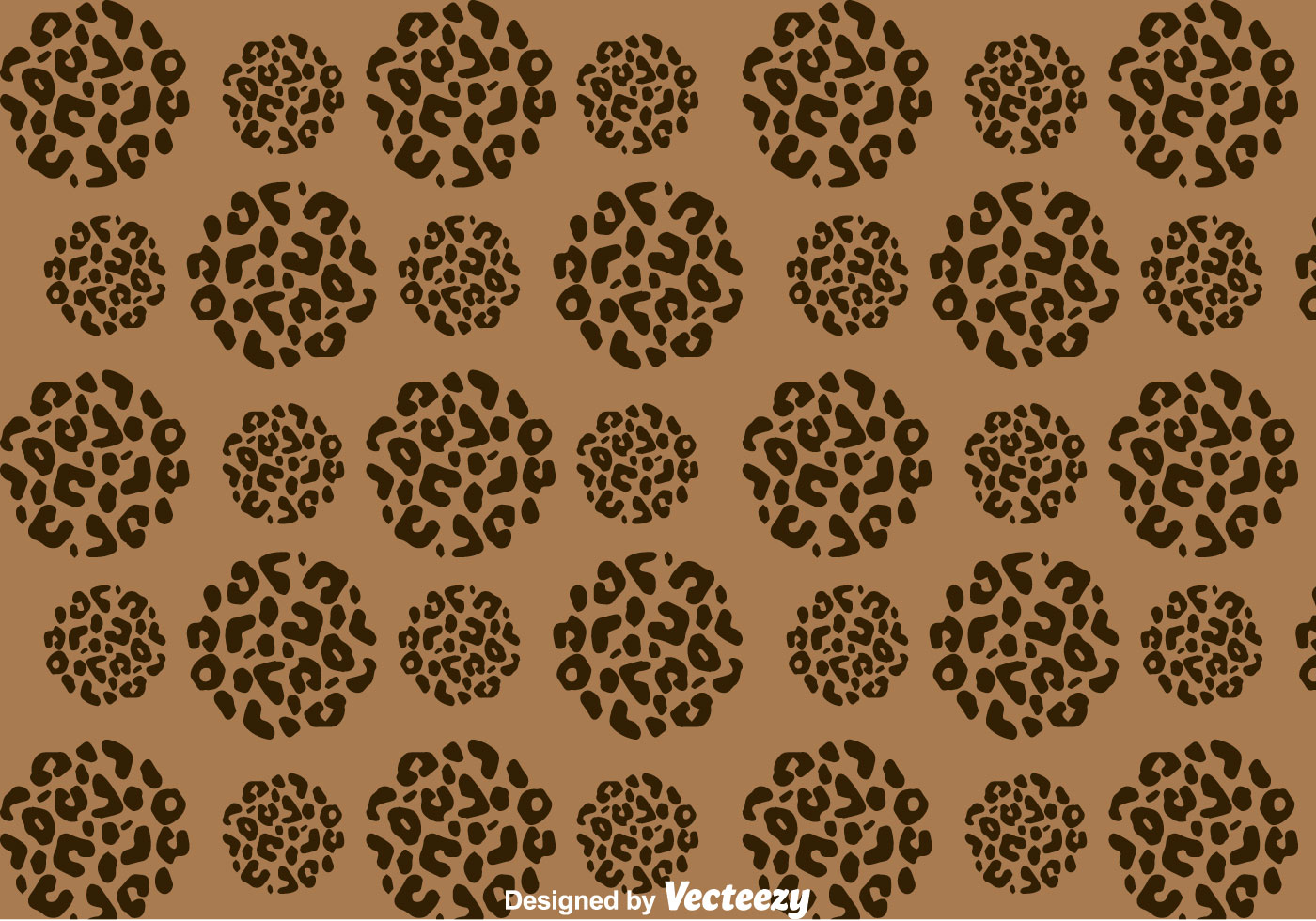 Download Leopard Pattern On Circle Shape - Download Free Vector Art ...