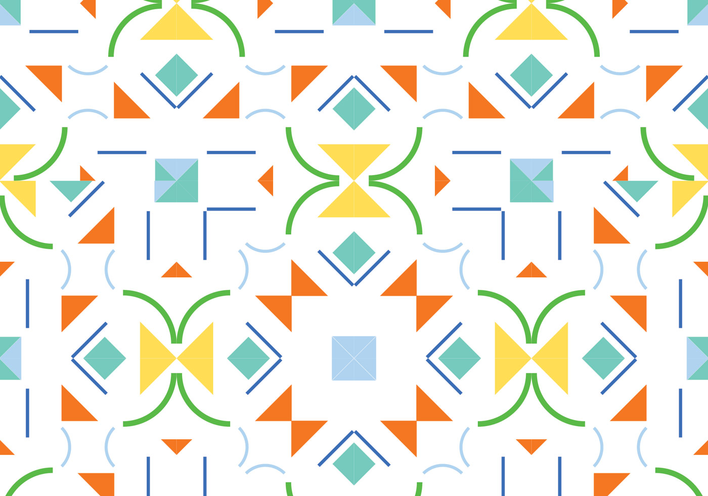 Abstract shape seamless pattern background - Download Free ...