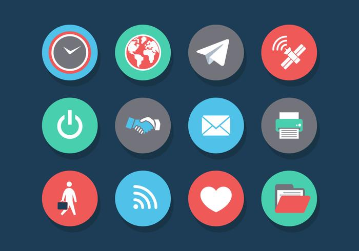Internet of Things Vector Icon Set