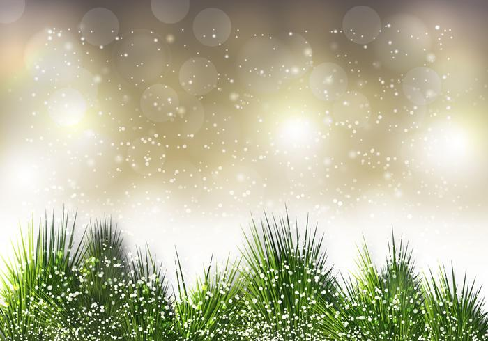 Free Christmas Pine Needle Vector