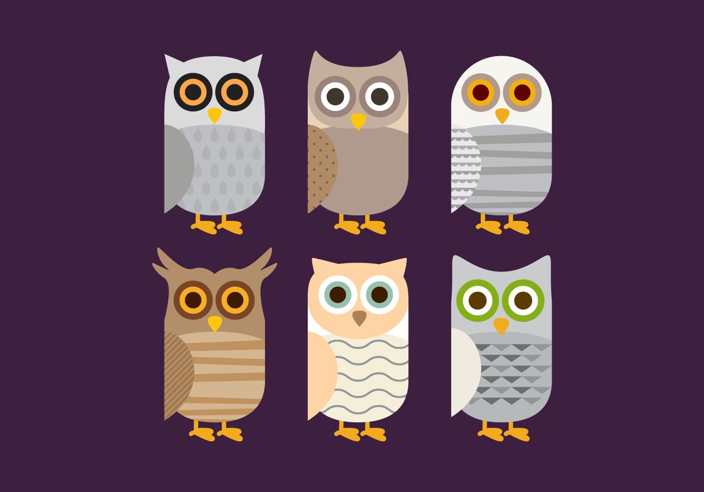 vector barn owl