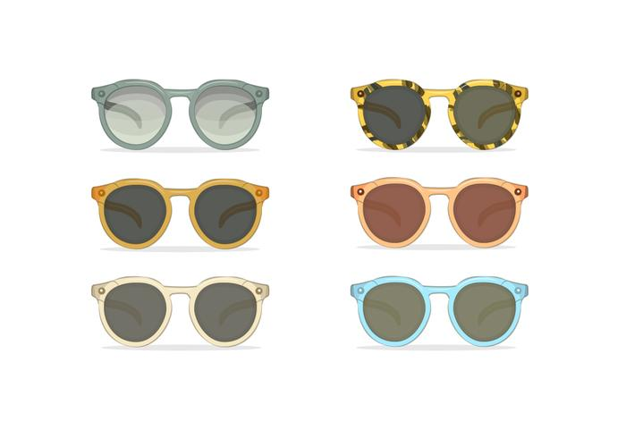 80s sunglasses vectors