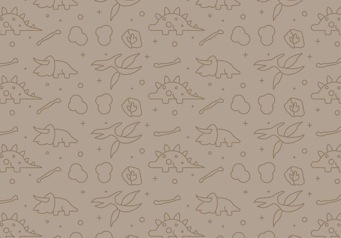 Free Dinosaur Pattern #10