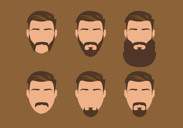 Vector Old Style Beard Download Free Vector Art Stock