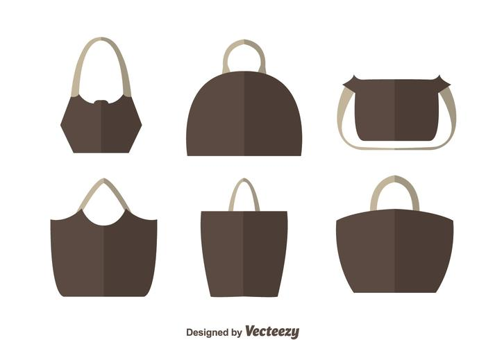 Simple Bag Flat Vectors