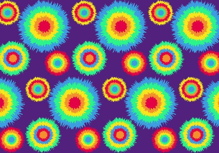 Vector Tie Dye Pattern