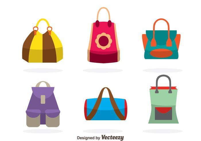Bags Vectors