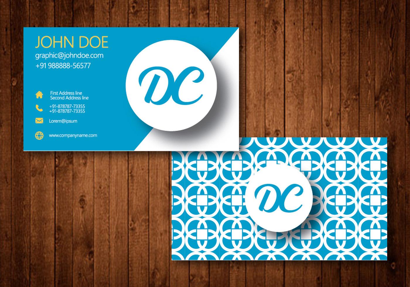 Business Card Vector D...