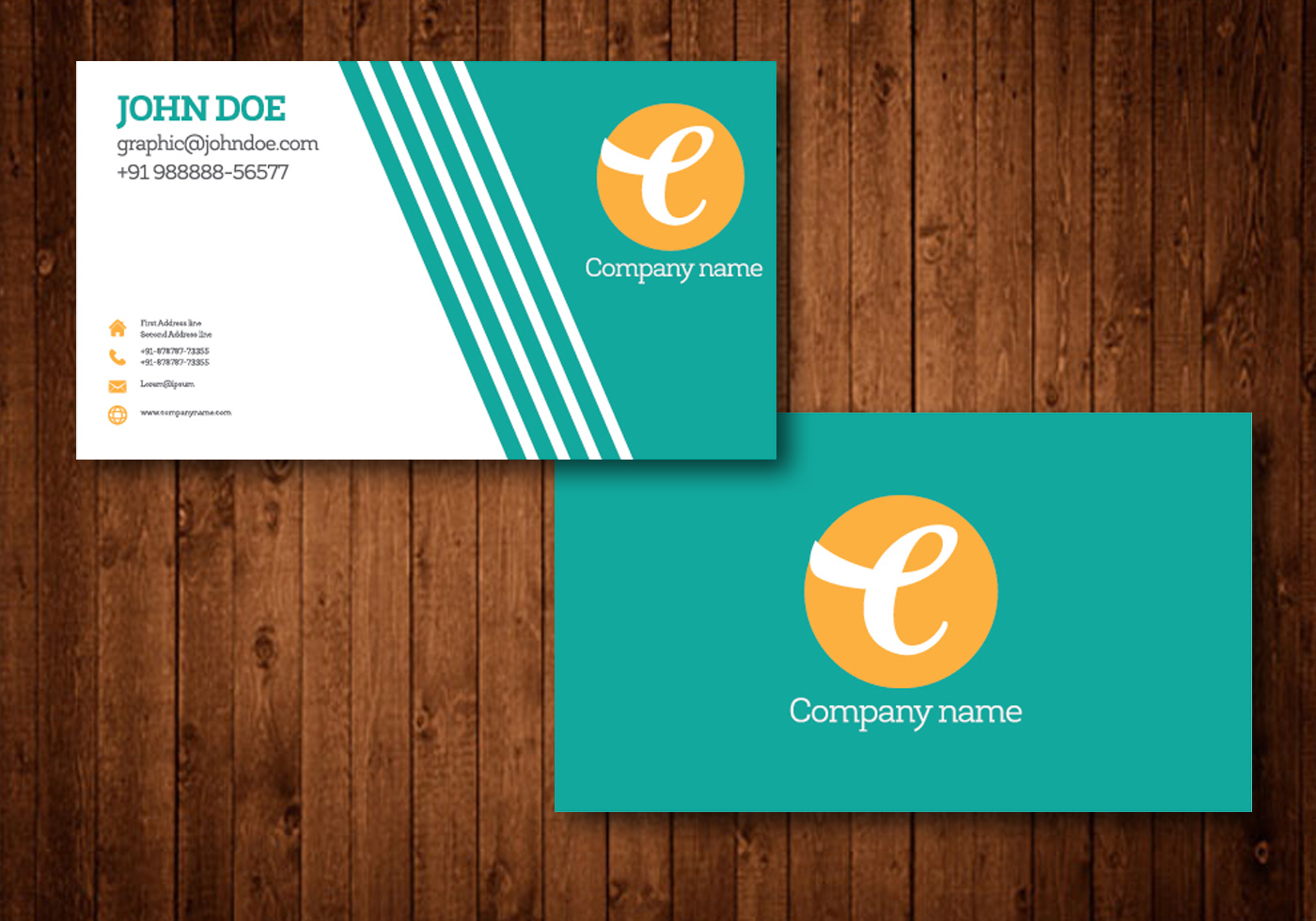 Business Card Template Free Vector Art - (15202 Free Downloads)