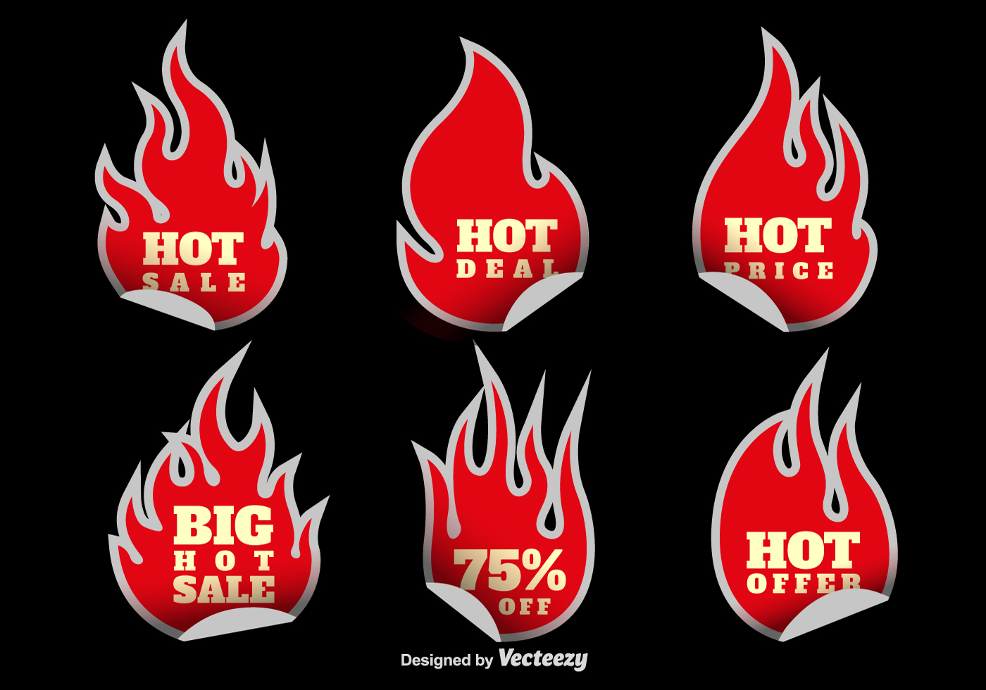 Free vector sale stickers 7016 free downloads