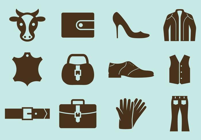 Leather Vector Icons