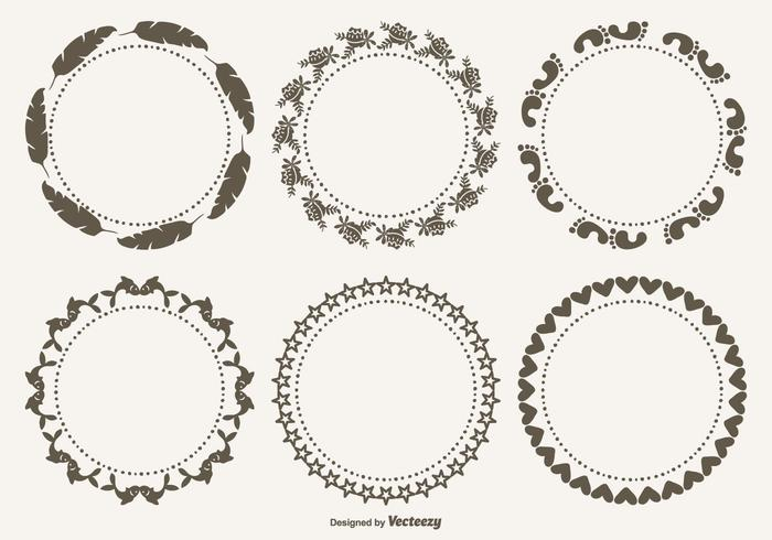 Cute Decorative Frames Set