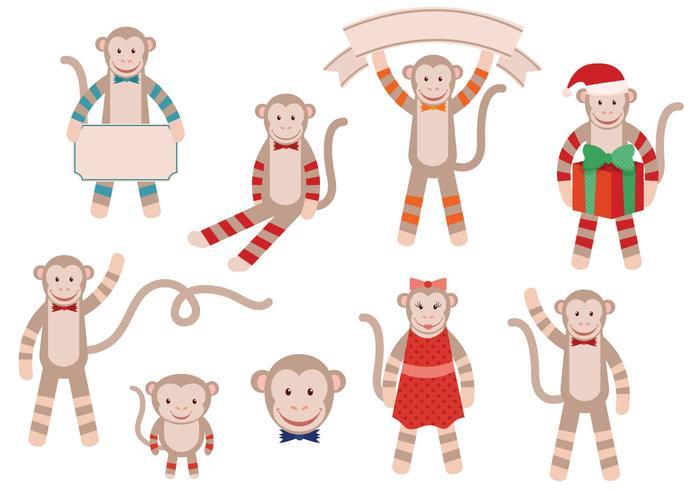 Free Monkey Vectors