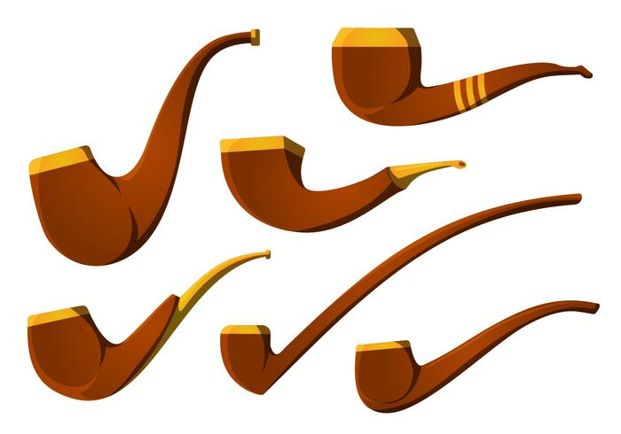 The Vintage Tobacco Pipe Vector Pack