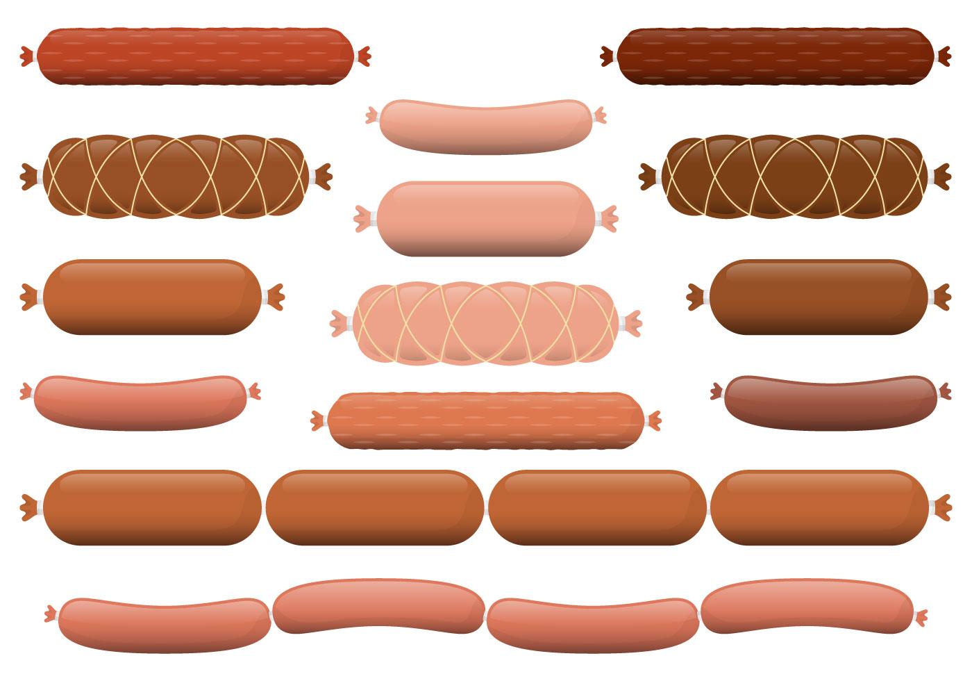 Sausage Vectors Download Free Vector Art Stock Graphics