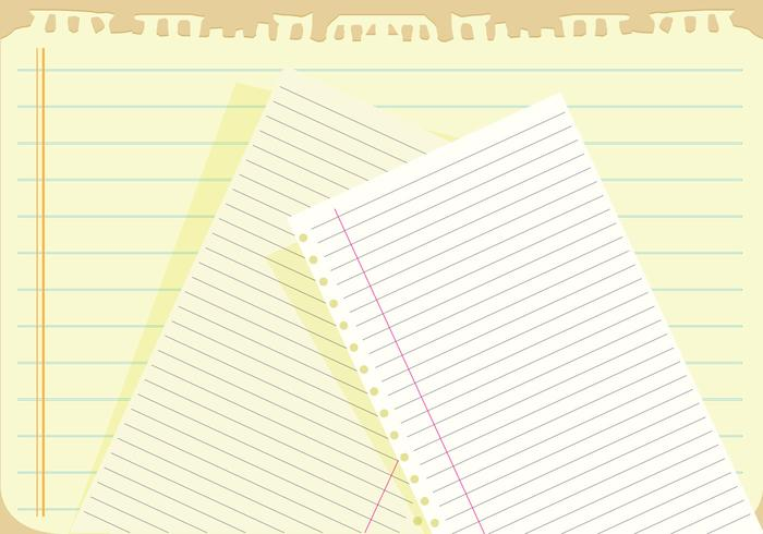 Notebook paper background vector - Download Free Vector ...