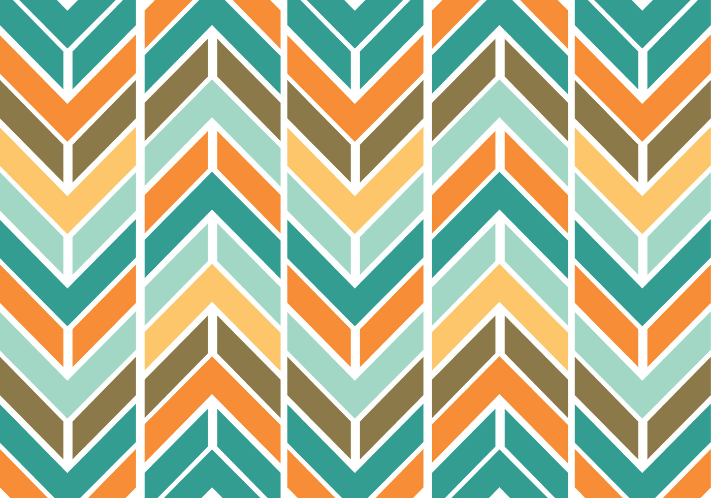 Colorful funky chevron pattern vector download free for How to make a chevron template