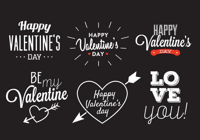 Valentinstag Vektor