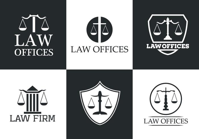 Law Office Vector Logo Collection
