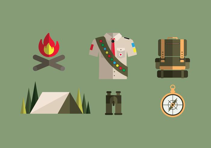 Boy Scout Illustrations