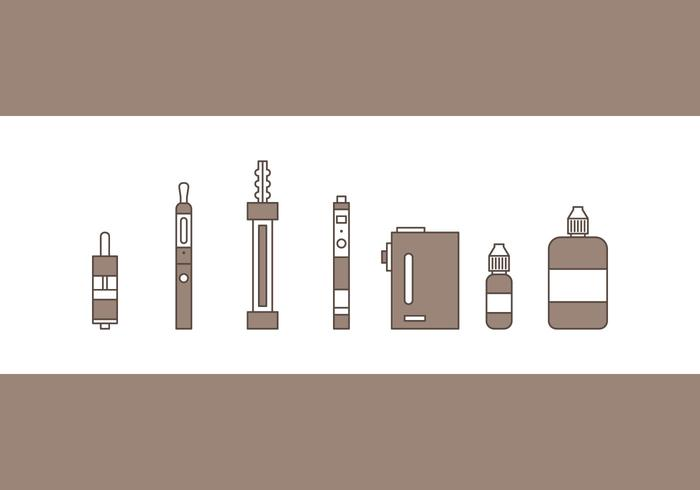 Free Vape Vector Icons #3