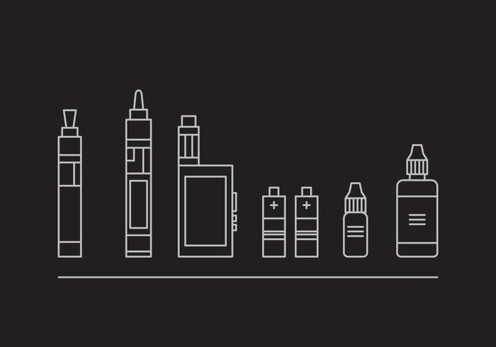 Free Vape Vector Icons #2