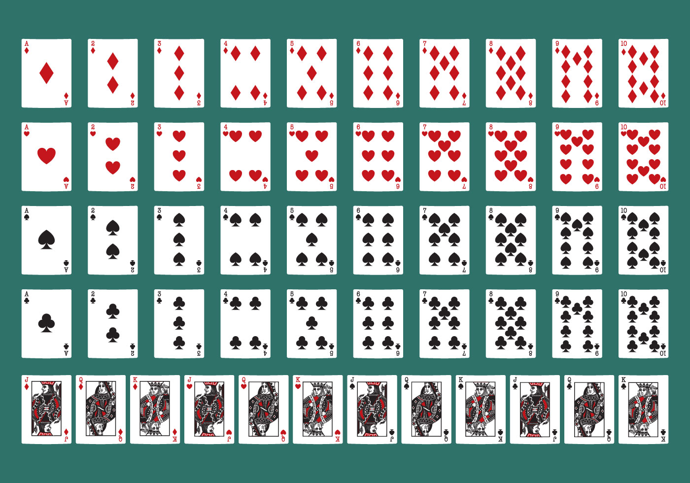 Poker Cards Download Free Vector Art Stock Graphics