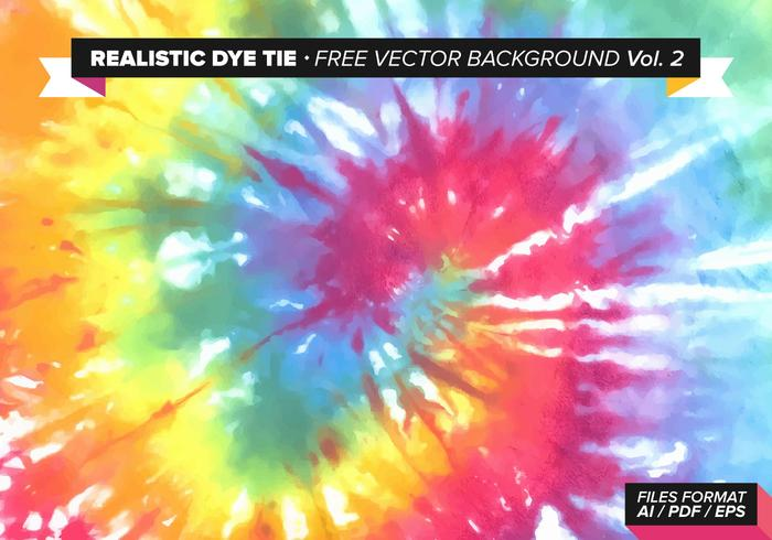 Realistic Dye Tie Free Vector Background Vol. 2