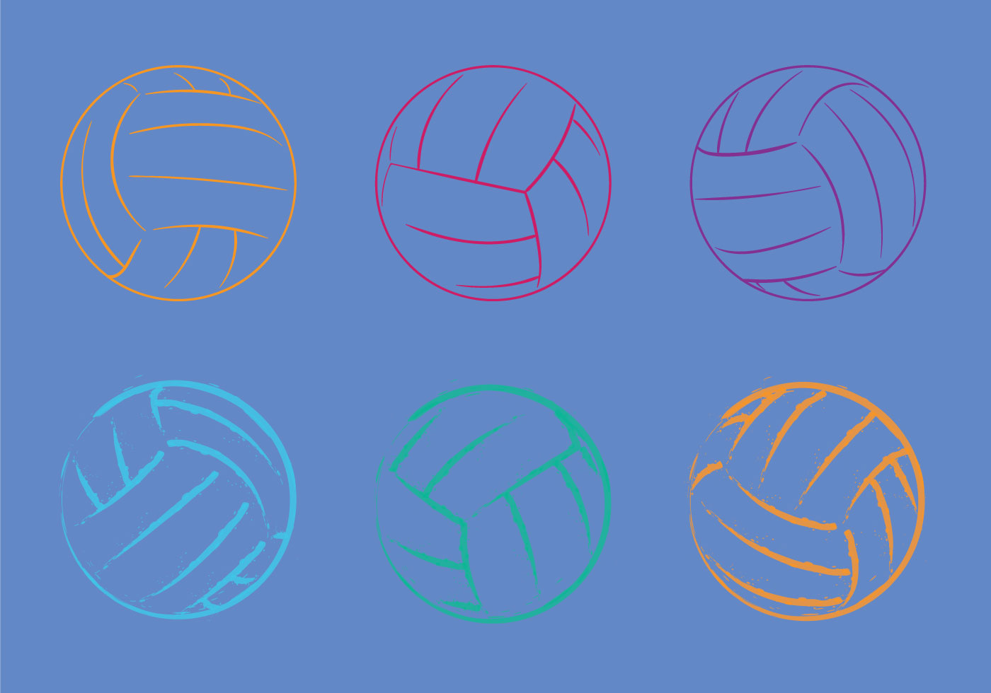 volleyball clipart vector - photo #44