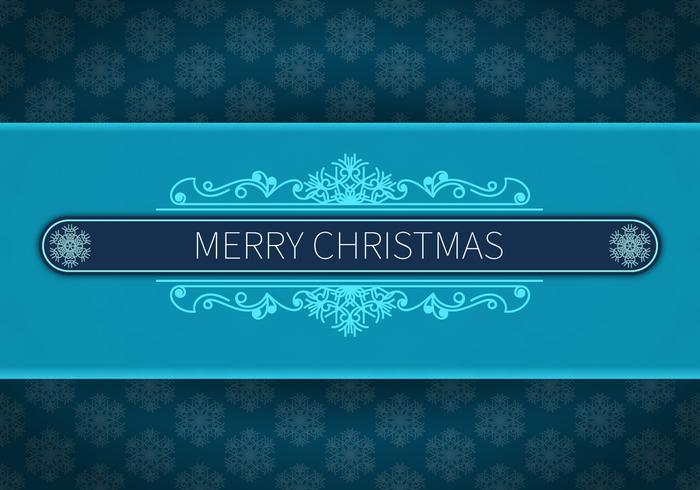 God julblå bakgrund