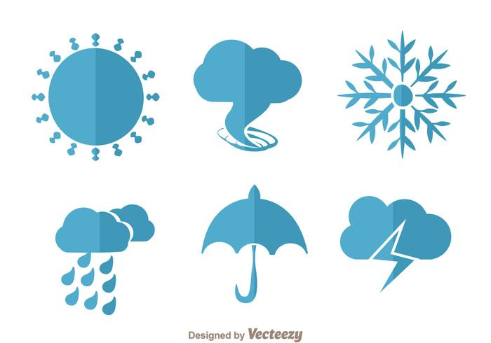 Weather Flat Vectors