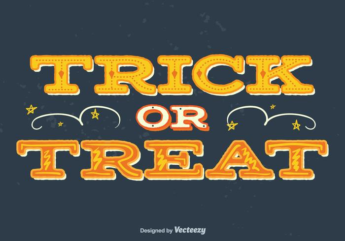 Trick of treat achtergrond