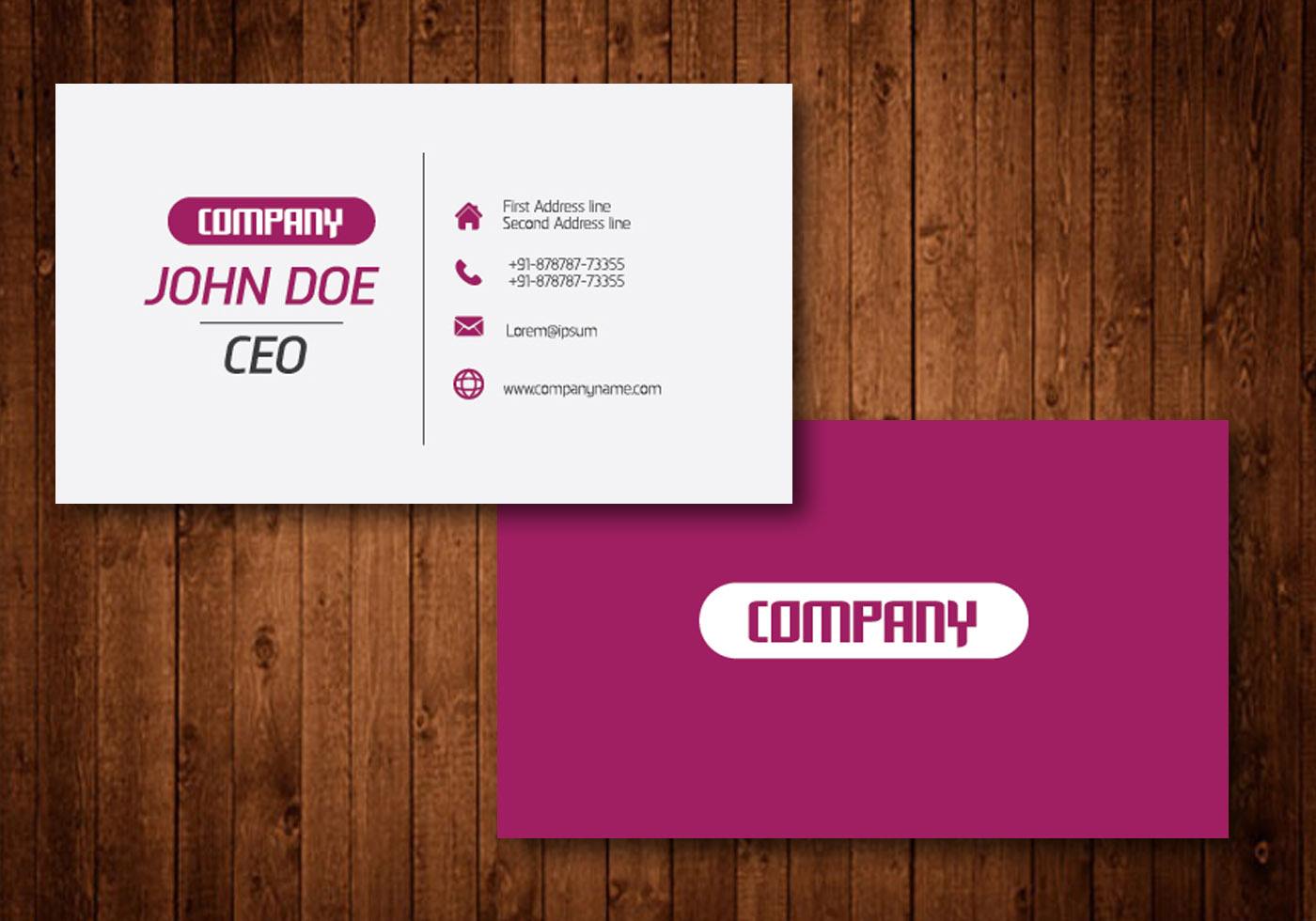 Creative Business Card - Download Free Vector Art, Stock Graphics ...
