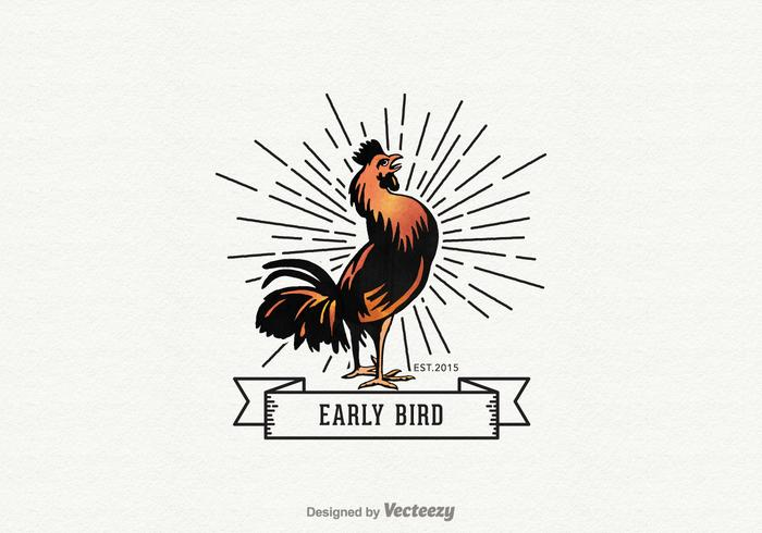 Gratis Early Bird Vector Logo