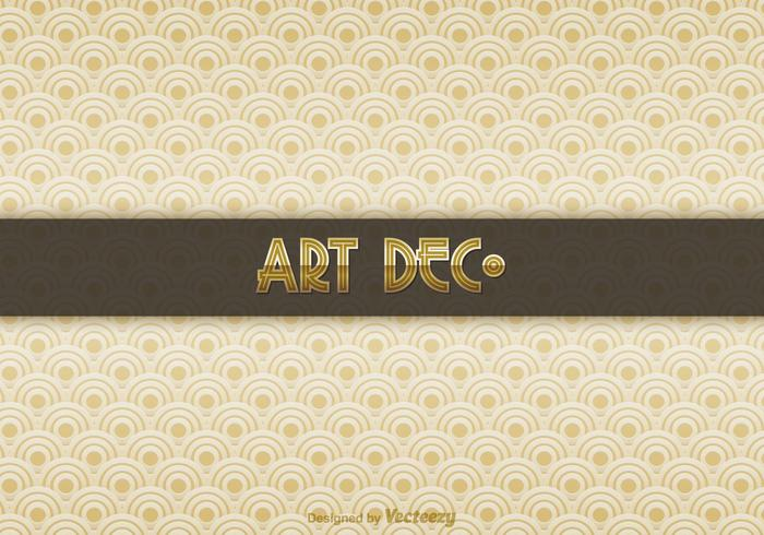 Free Art Deco Vector Background