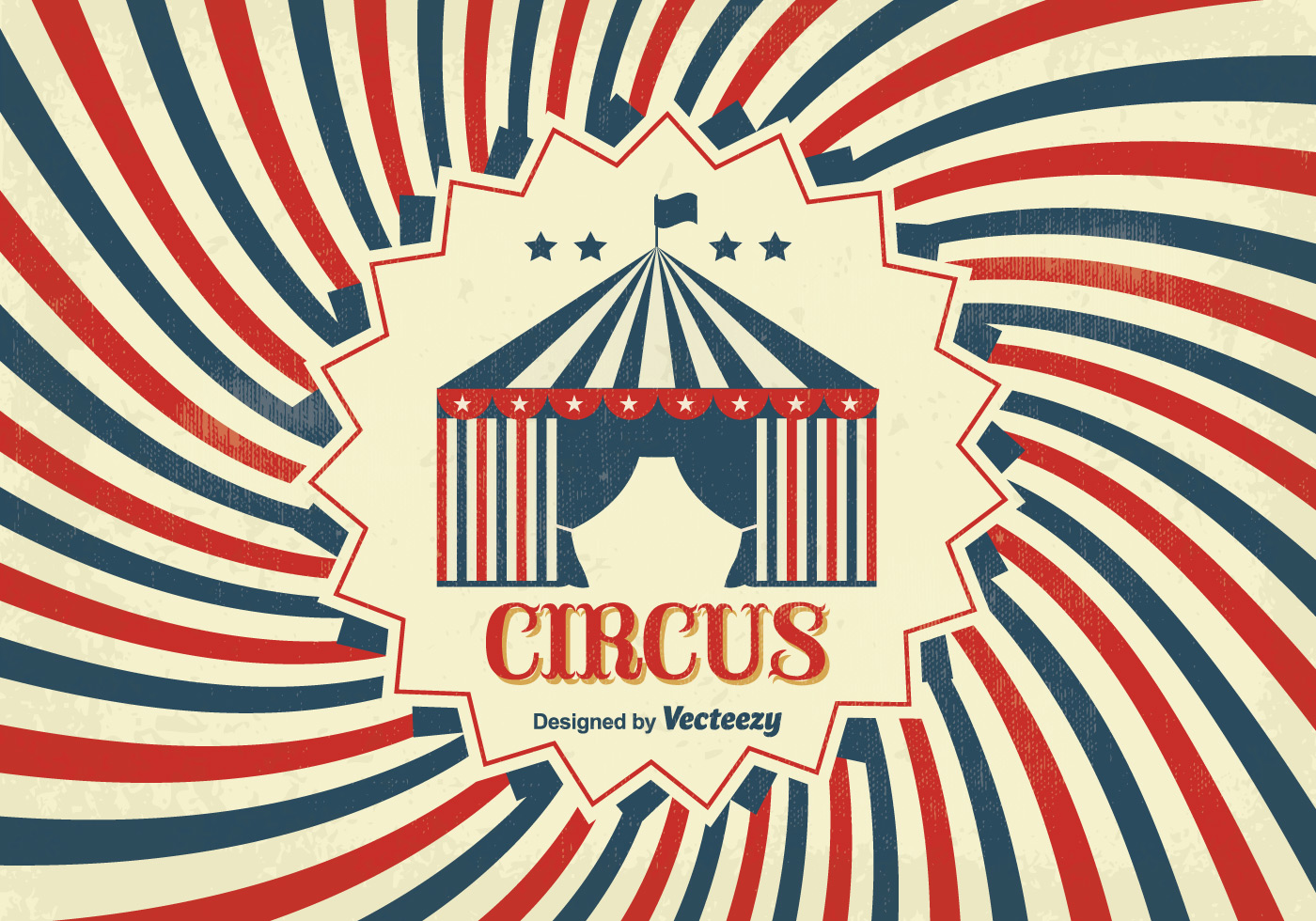 Vintage circus poster download free vector art stock for Circus posters free