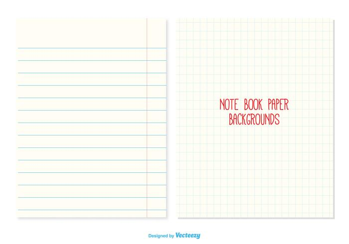 Notebook Paper Backgrounds Download Free Vector Art – Notebook Paper Download