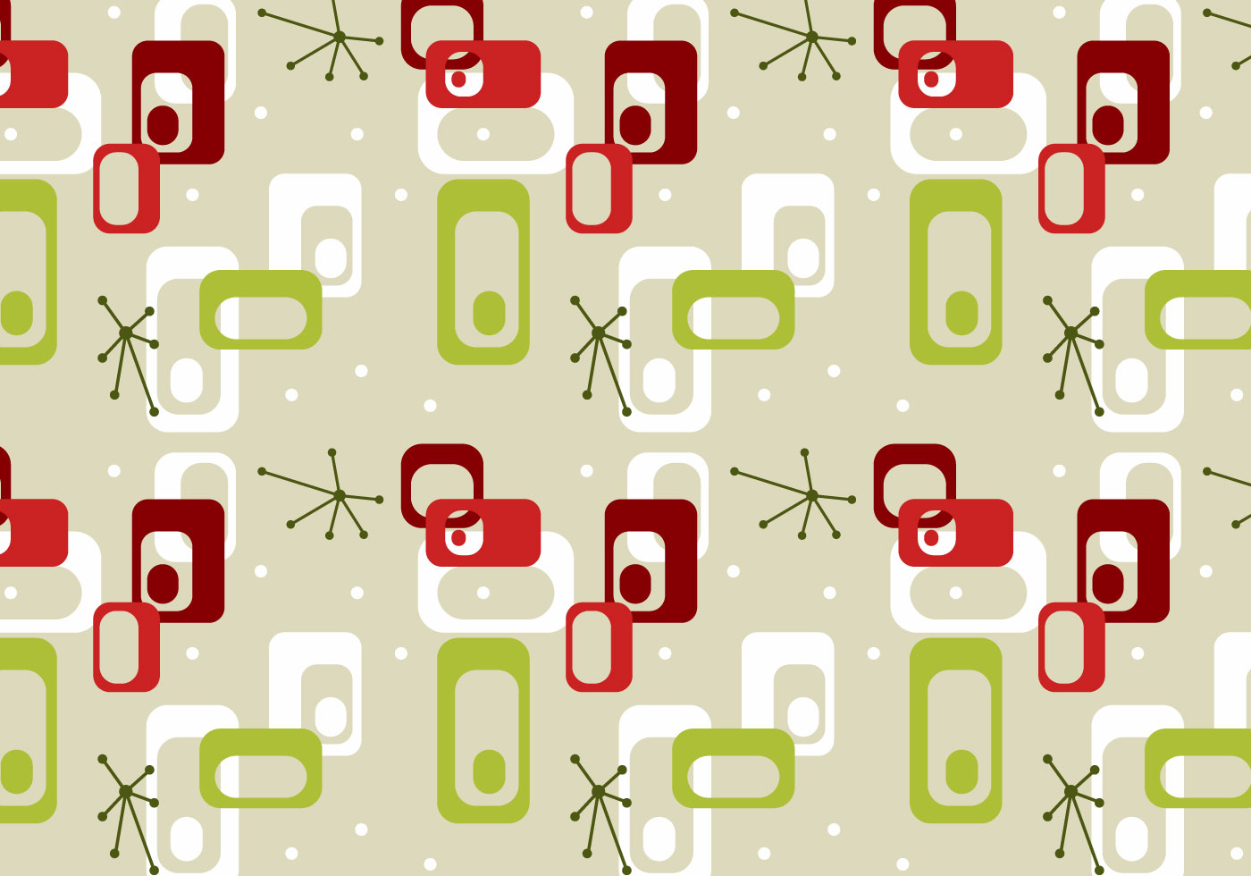 free mid century vector pattern 3 download free vector art stock