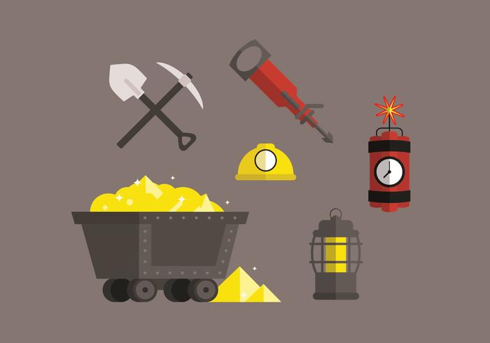 Gold Mine Vector Pack