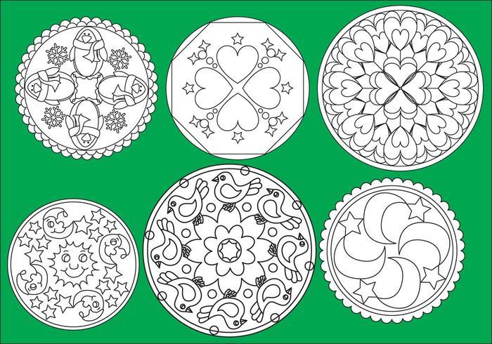 Children Coloring Mandalas