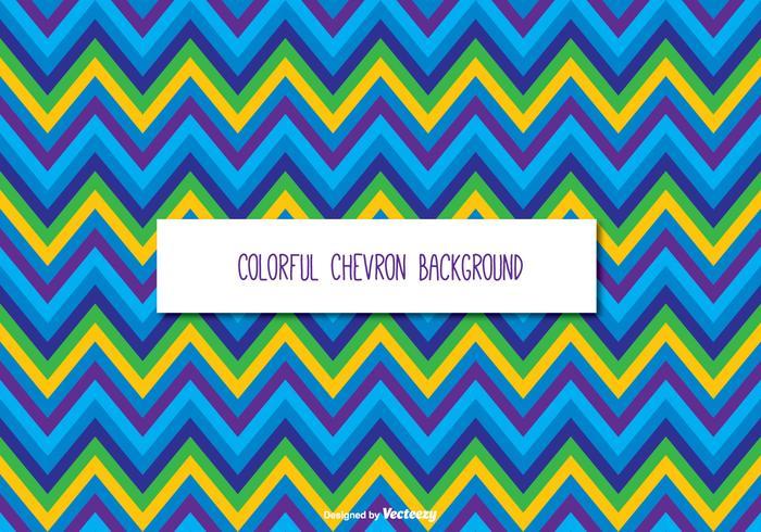 Fondo colorido de Chevron vector